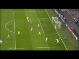 Лига Чемпионов. Аякс - Барселона 0:1. Гол Лионеля Месси