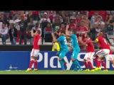 Футбол.Лига чемпионов.1-й тур.Бенфика - Зенит 0:2 22' Аксель Витсель